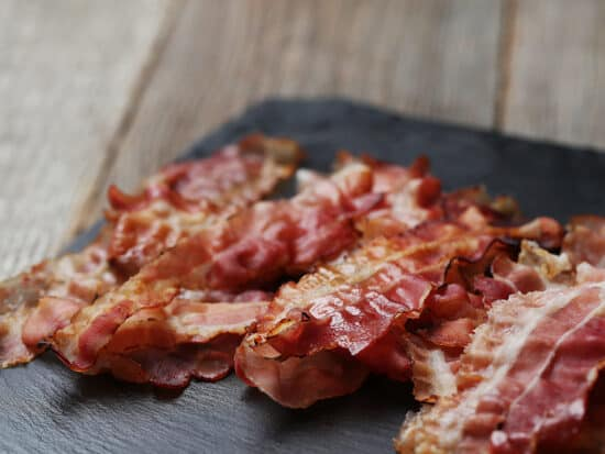 how to slice bacon