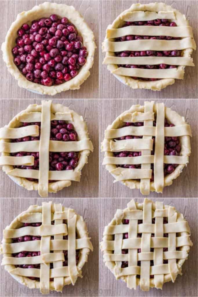 cover the pie