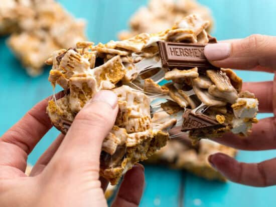 these s'mores bars are the perfect summer treat
