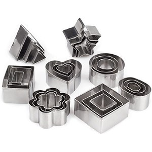 mini metal cookie cutters set