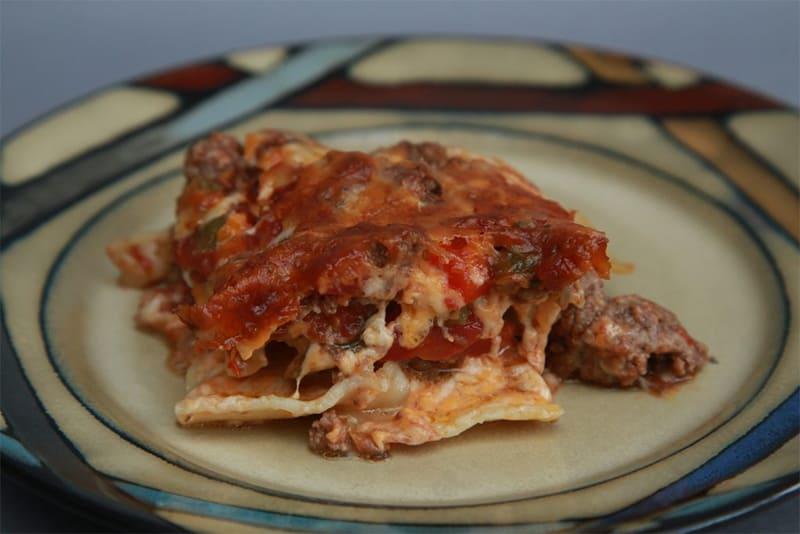 put egg in lasagna