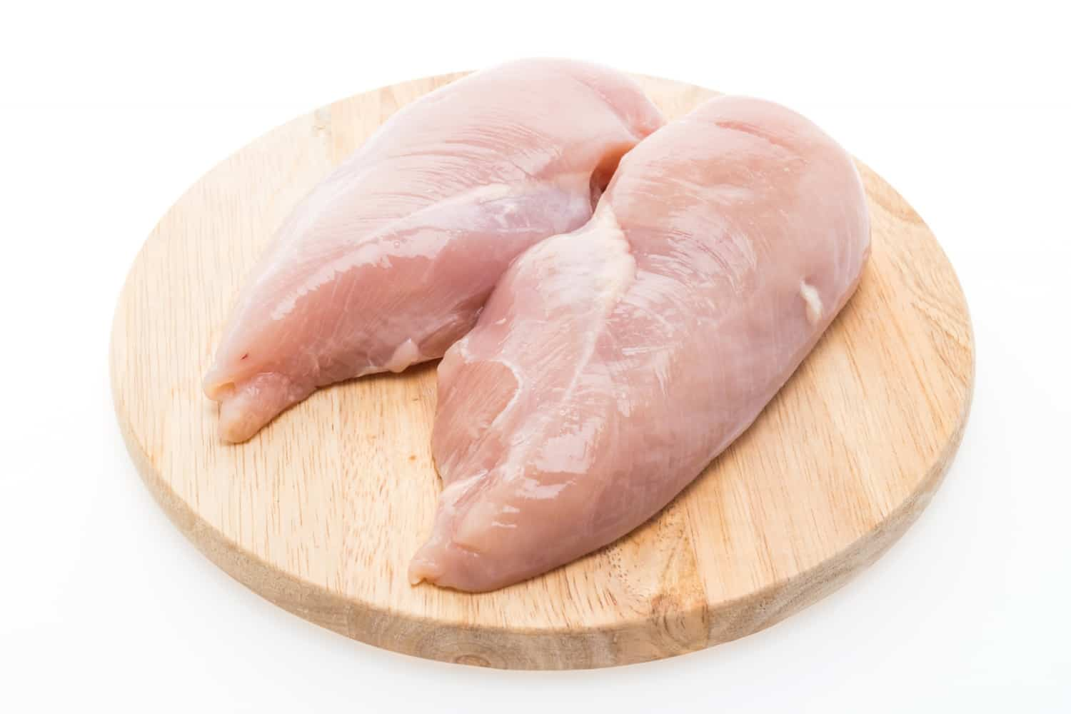 what is a chicken breast half
