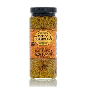 enrico formella hot & spicy pizza topping
