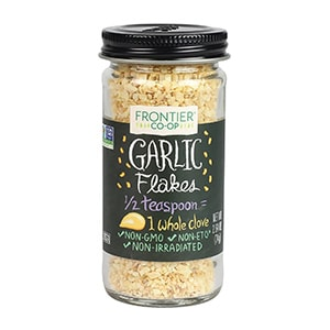 frontier natural products garlic flakes