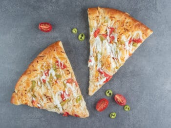 how to soften hard pizza crust