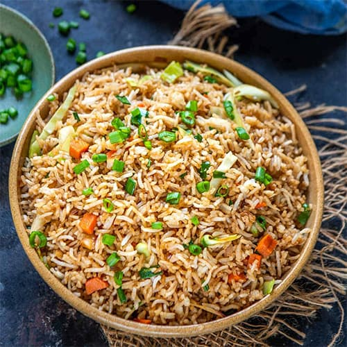 tasty and quick fried rice